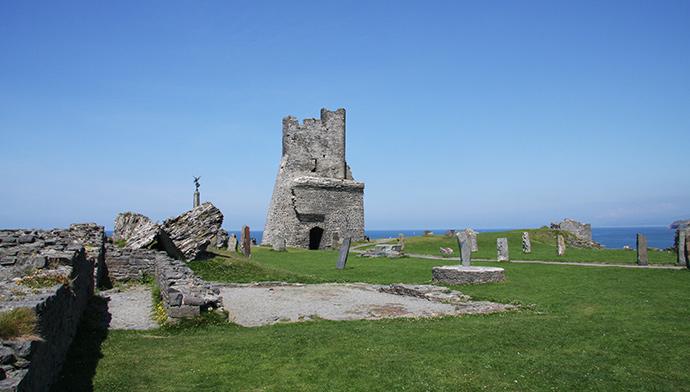 Aberystwyth Castle, Park and Mini